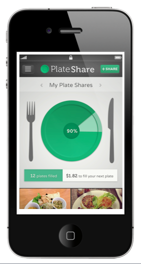 PlateShare iPhone